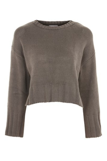 Topshop jumper cropped sweater