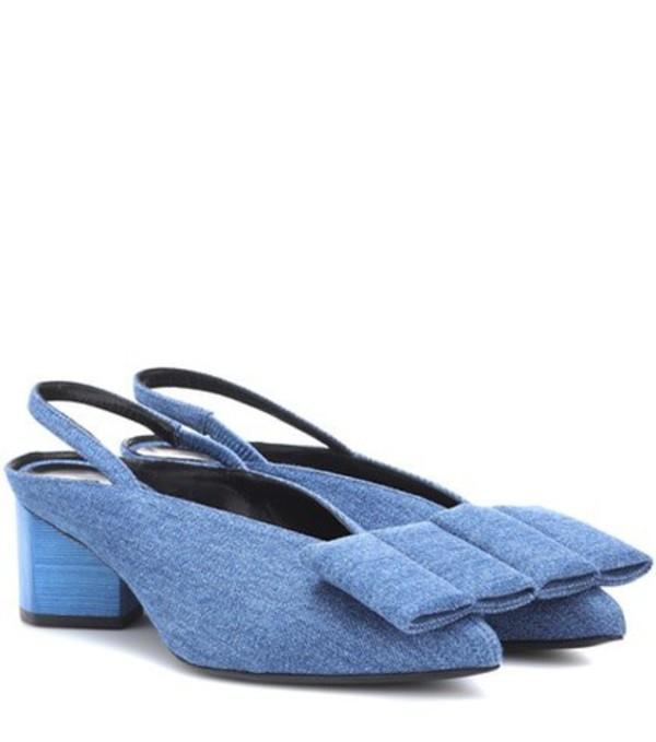 Pierre Hardy Obi slingback pumps in blue