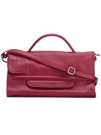 women soft bag crossbody bag red