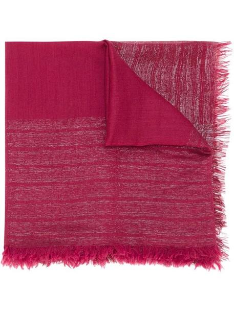 scarf purple pink