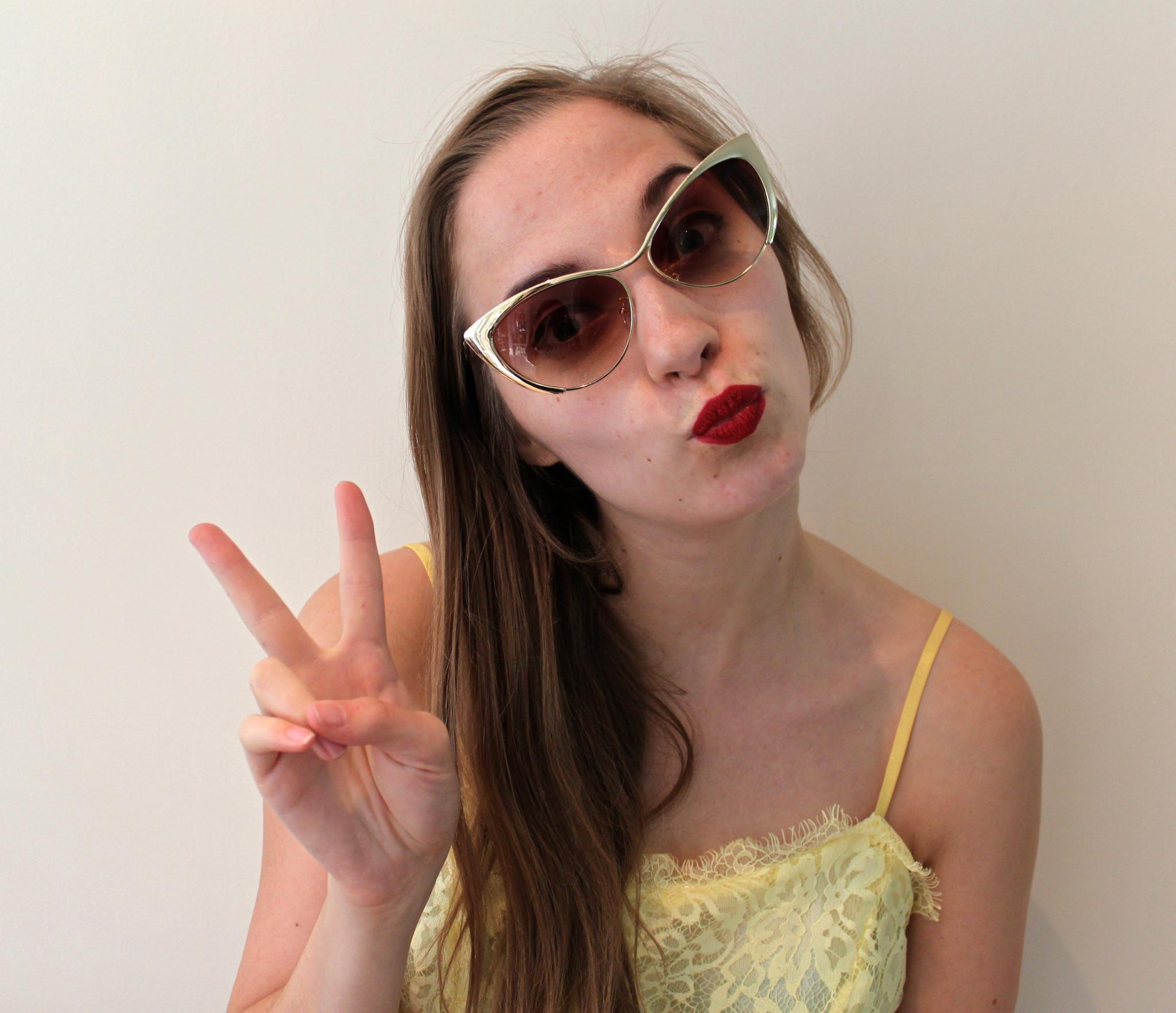 Gold framed sunglasses – shop seasouth