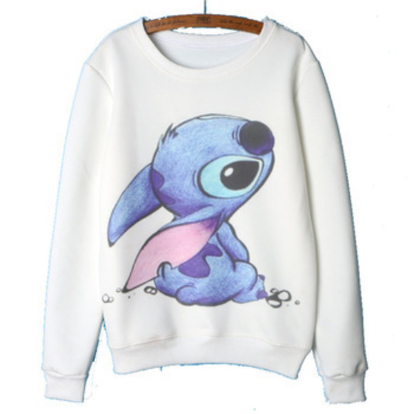 4573c6e60b0 2015 Autumn Winter clothing Lilo   Stitch Hoodies Women Cute Cartoon  Printing Sweatshirts Women s Hoodies Pullover -in Hoodies   Sweatshirts  from Women s ...