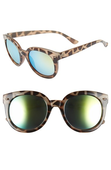 BP. 52mm Oversize Mirrored Sunglasses | Nordstrom