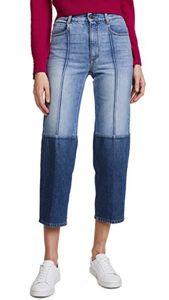 Stella McCartney jeans high blue