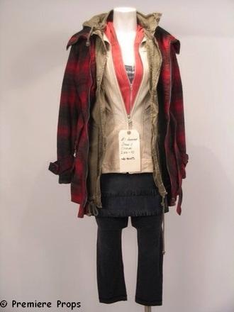 coat silent hill jacket tartan tartan jacket grunge rock