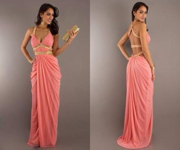bracelet prom dress floor length