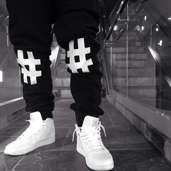 pants black joggers harem pants shoes