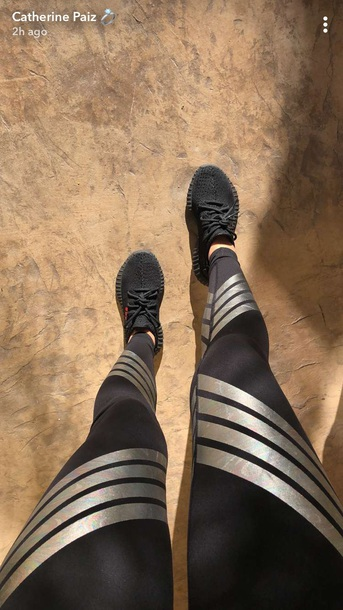 shoes sneakers black tights workout leggings leggings workout catherine paiz workout shoes black leggings printed leggings cute brand outfit gym sports shoes gym clothes