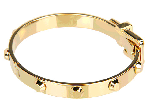 Michael Kors Collection - Astor Buckle Bangle (Gold) | Clothespedia