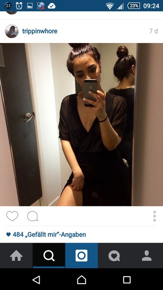 dress shirt dress v neck dress v neck shirt tee dress oversized tee oversized shirt black tee dress transparent dress swag urban t-shirt