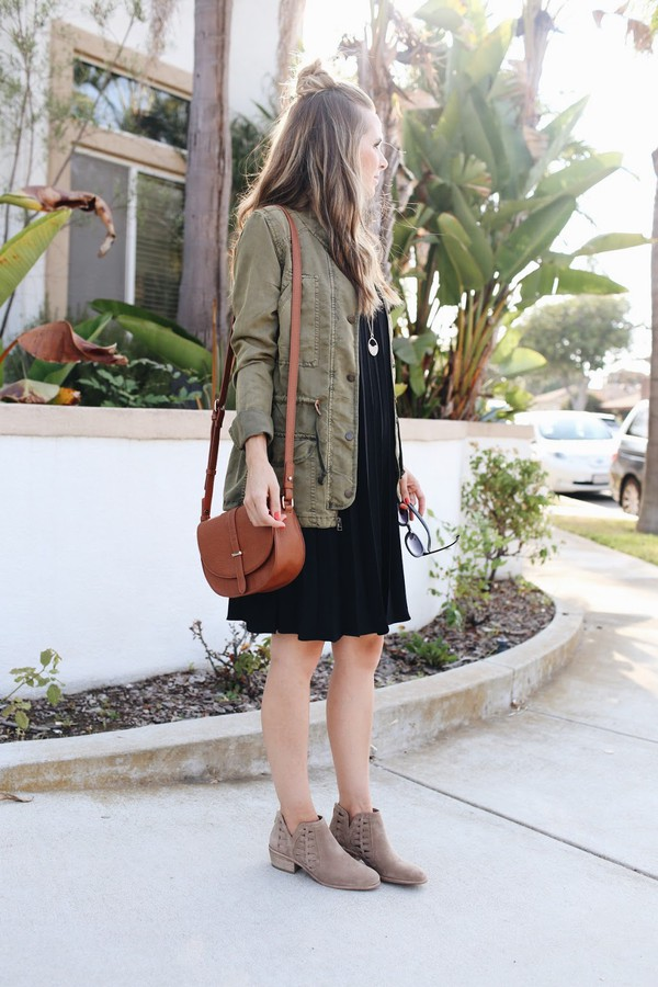8c11330216e blogger dress shoes bag jewels jacket army green jacket black dress boots  ankle boots nude boots.