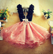 gorgeous dress,dress,pink roses cute