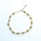 Gold spiked choker necklace
