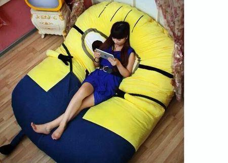 Despicable Me huge minion bean bag bed
