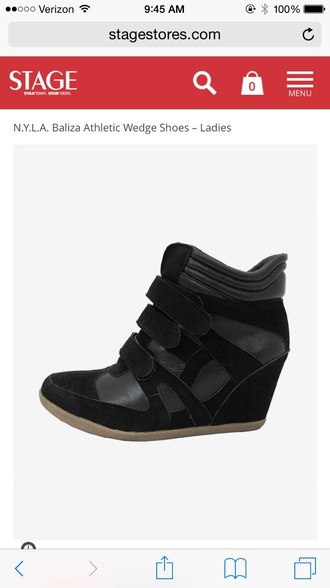 shoes black higheels high top sneakers