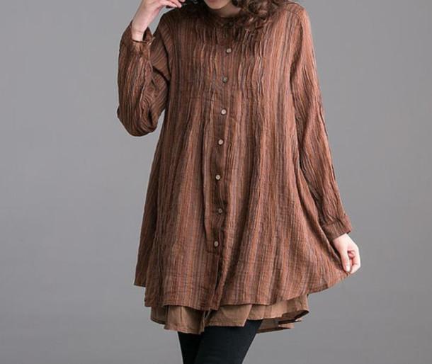 dress linen dress