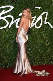 dress,nicholas oakwell,nicholas oakwell couture,british fashion awards,karlie kloss