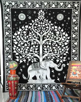 home accessory tree of life tapestry good luck elephant elephant tapestry hippie throw queen elephant bedcover bohemian wall hanging hippie bed cover queen bedspread