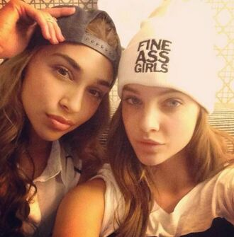 hat beanie barbara palvin chantel jeffries
