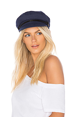 Brixton Ashland Cap in Indigo from Revolve.com