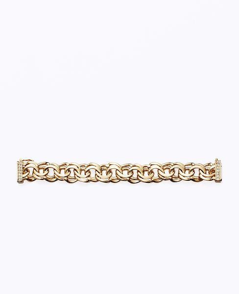 Modern Classic Pave Chain Bracelet | Ann Taylor