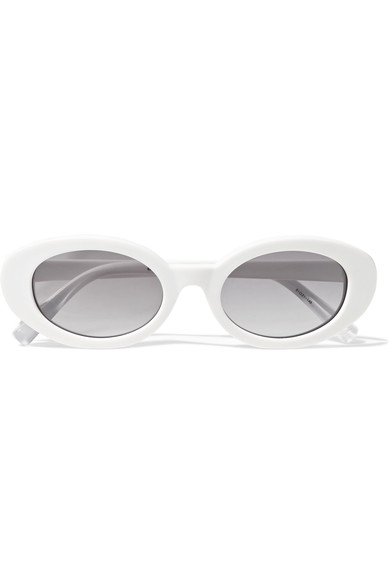 Elizabeth and James - McKinley oval-frame acetate sunglasses