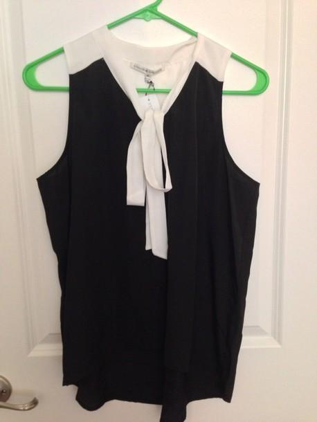 blouse collective concepts lynoor color block necktie blouse