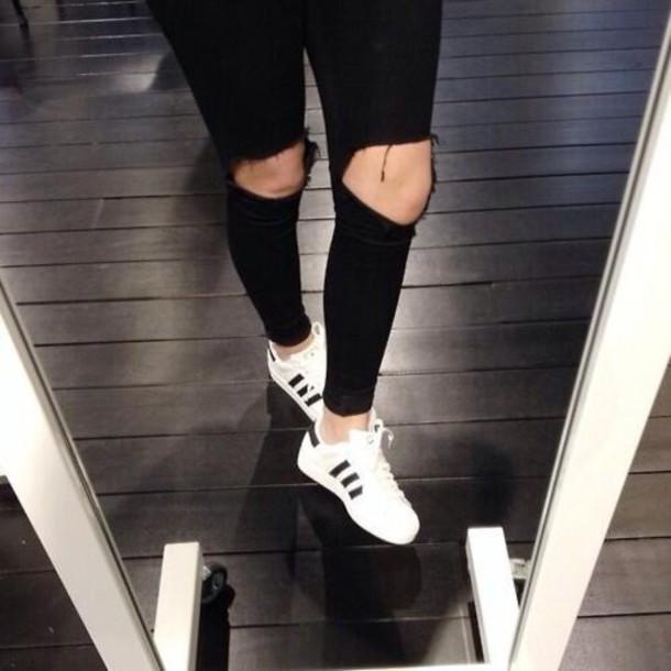 adidas superstar white tumblr   PQPM ECE 553823bef6f4
