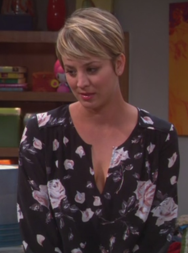 blouse kaley cuoco big bang theory
