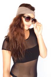 hat,turban,headband,hair,band,sunglasses,sunnies,shades,eyewear,retro