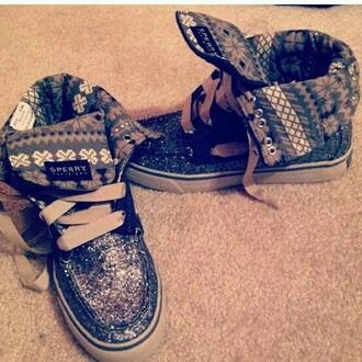 shoes sperrys sparkle