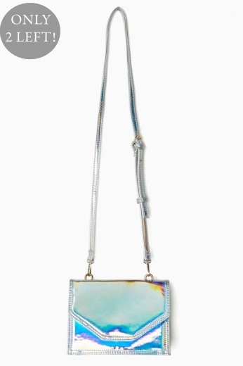 Holographic Bag- Crossbody - $58
