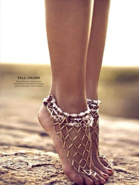 shoes footless sandels.