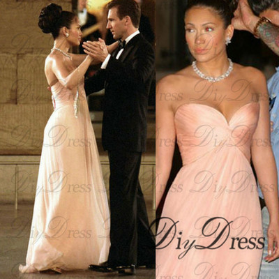 New arrival 2015 design sweetheart neck empire peach chiffon long prom dresses apd1299 · diydressonline · online store powered by storenvy