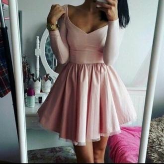 dress girly pink beautiful ballet princess prom dress beautiful  dress american style