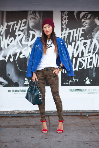song of style jacket shirt jewels jeans shoes bag