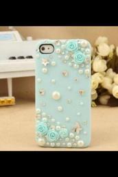 phone cover,light blue