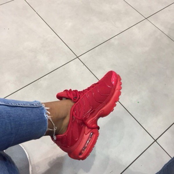 competitive price 450c6 b19ac shoes red air max nike sneakers trainers