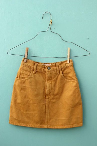 90's skirt denim skirt khaki khaki skirt