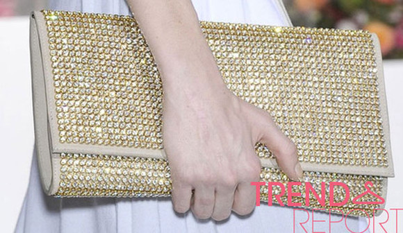bag gold clutch glitter