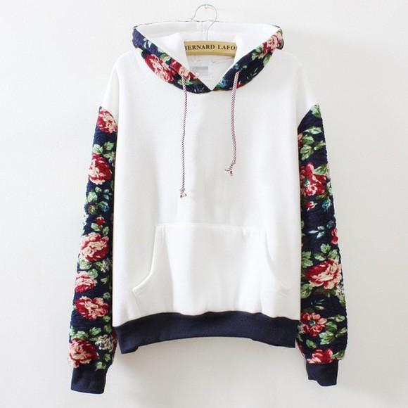 floral hoodie floral hoodie floral sweater