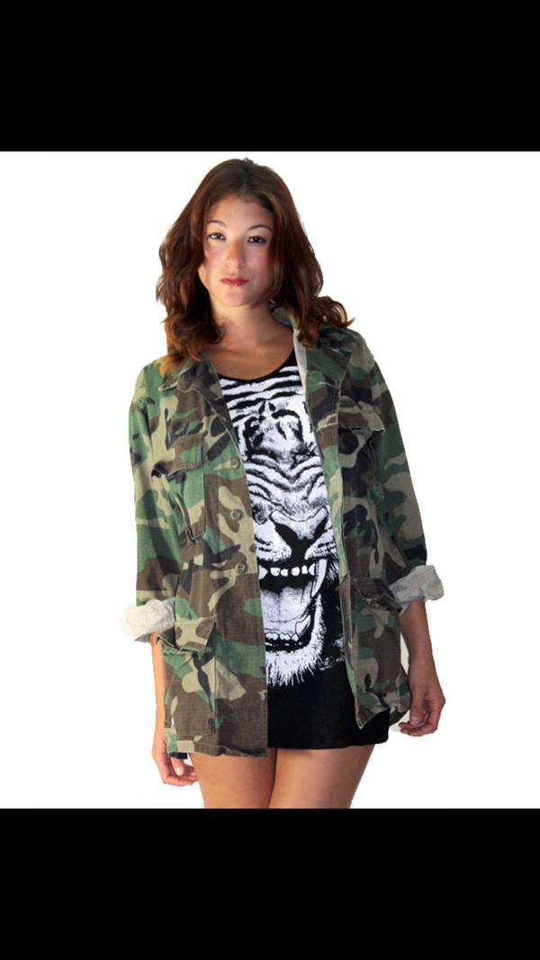 jacket camouflage camouflage camo jacket