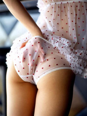 underwear,heart,lingerie,ruffle,sheer,undies,camisole,babydoll