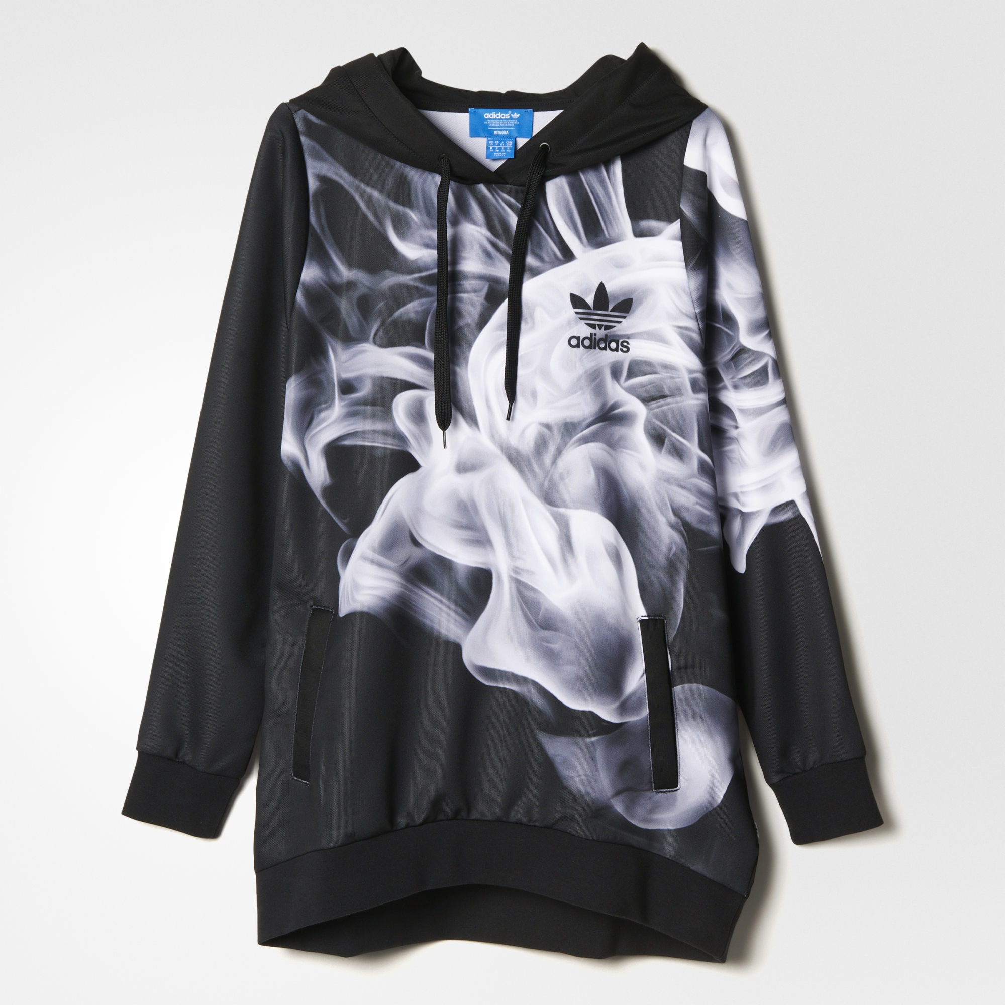 Adidas Flux Black And White Smoke