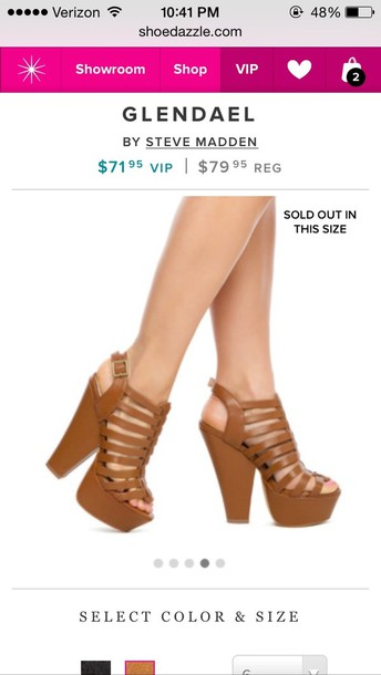 shoes steve madden thick heel