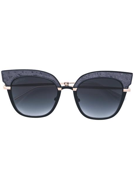 Jimmy Choo metal women sunglasses grey