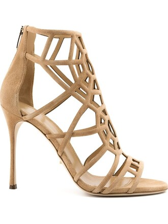 strappy sandals nude shoes