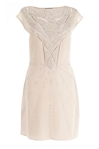 sparkly dress white dress cream dress gold pretty formal formal dress wedding clothes wedding dress
