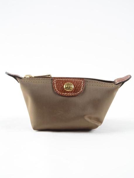 Longchamp clutch green bag