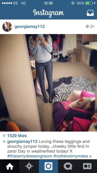 skinny grey jeans grey leggings leggings jeggings zipper jeans skinny pants skinny jeans